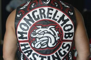 A Mongrel Mob member was sentenced to eight years jail for an attack on another member of the gang. File photo / Hawkes Bay Today