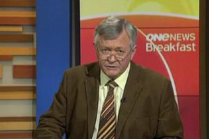 TVNZ's news nostalgia features the likes of Dougal Stevenson, pictured last year. Photo / Supplied