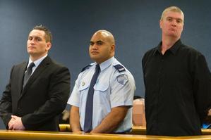 Convicted - Iain Clegg (left) and John Skinner (right). Photo / NZPA