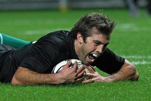 Centre Conrad Smith is now a key All Black. Photo / Getty Images