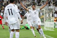 Rory Fallon created history with his winner against Bahrain. But can he and his All Whites teammates do it a second time against Slovakia? Photo / Hannah Johnston