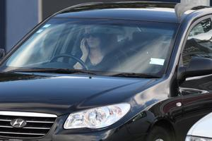 Cell phone use was voted the most frustrating driver behaviour. Photo / Bay of Plenty Times