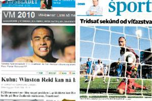 Media coverage from around the world of the All Whites v Slovakia match. Source / Herald Graphic