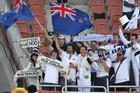 The All Whites have won a place in the hearts of New Zealand sports fans. Photo / Brett Phibbs