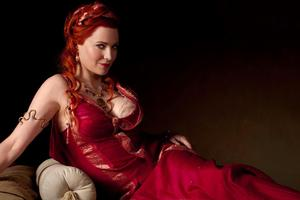 Lucy Lawless as Lucretia in Spartacus: Blood and Sand. Photo / Supplied