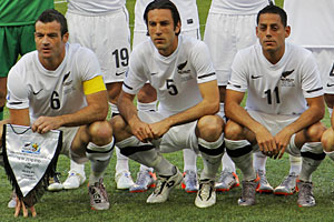 The All Whites have captured the nation's imagination. Photo / AP