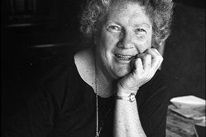 Author Janet Frame. Photo / Supplied