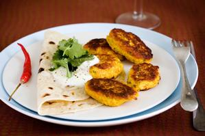 Pumpkin koftas. Photo / Babiche Martens