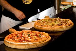 Gorgeous pizza bar. Photo / Babiche Martens