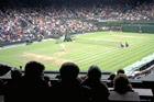 Wimbledon continues to draw the crowds. Photo / David Leggat