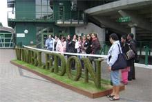 Wimbledon attracts the crowds. Photo / David Leggat