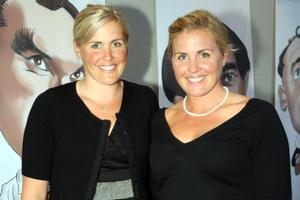 Caroline Meyer (far left) and Georgina Earl. Photo / Dean Purcell