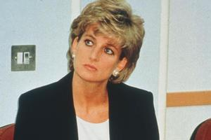 Viewers ranked the untimely death of Princess Diana in 1997 second in the poll. Photo / Supplied