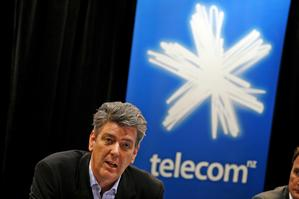 Paul Reynolds of Telecom. Photo / Dean Purcell