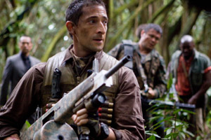Adrien Brody in Predator. Photo / Supplied