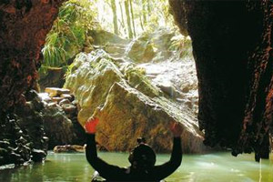 The Waitomo Caves were formed two million years ago. Photo / Discover Waitomo