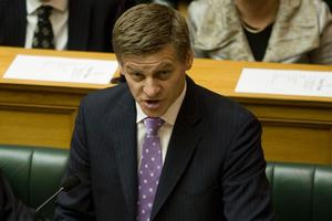 Bill English's tax package struck the right note with business leaders. Photo / Mark Mitchell