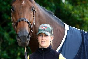 Despite big offers Katie McVean is keeping 'once-in-a-lifetime' Dunstain Delphi. Photo / Christine Cornege
