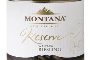 2009 Montana Reserve Waipara Riesling. Photo / Supplied