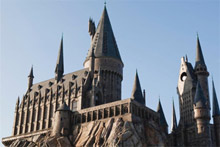 Hogwarts Castle is the jewel in the crown of the Harry Potter theme park. Photo / Kevin Kolczynski