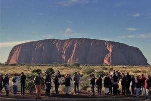 Uluru, an Aussie icon in the middle of the Outback. Photo / Brett Phibbs