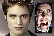 Dr Andrew Cardow says today's vampires, such as those seen in <i>Twilight</i>, have a sense of humanity not displayed by earlier versions. Photos / Supplied