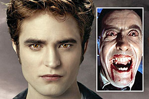 Dr Andrew Cardow says today's vampires, such as those seen in  Twilight , have a sense of humanity not displayed by earlier versions. Photos / Supplied