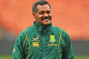 Springboks coach Pieter de Villiers. Photo / Getty Images
