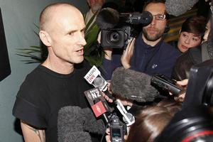 Pete Bethune is hoping for a 'coffee and a muffin' after his four-month ordeal in a Japanese prison. Photo / NZPA