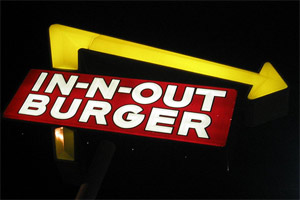 Baldwin Park in California was the home of the world's first fast-food outlet, an In-N-Out burger franchise, in 1948. Photo / Creative Commons image