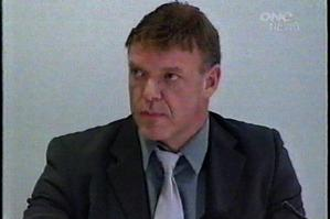 Johannes Wilson during his 2006 appearance at a medical tribunal where he was found guilty of misconduct. Photo / One News