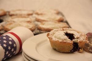 Miss America's Blueberry and apple pie. Photo / Ian Jones