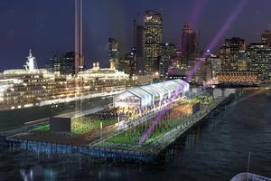 The new design for the extension of Shed 10 at Queens Wharf. Photo / Supplied