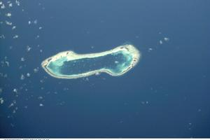 NZ Defence Force staff descend on the tiny nation of Tuvalu this week. Photo / NASA