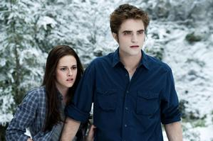 Kirsten Stewart and Robert Pattinson in a scene from Twilight: Eclipse. Photo / Supplied