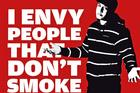 Anti-tobacco groups say campaigns have helped to reduce the number of smokers. Photo / Supplied