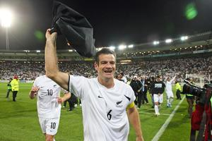 All Whites captain Ryan Nelsen won a well-deserved accolade by being included in the 'World Cup Best XI' named by American sports channel ESPN. Photo / Getty Images
