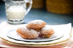 Lemon honey madeleines. Photo / Babiche Martens