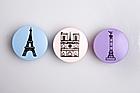 Fragonard solid fragrances with Paris landmarks. Photo / Babiche Martens