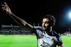 Cameron Smith of the Storm acknowledges fans. Photo / Getty Images