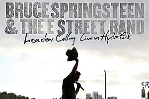 Cover of the DVD by Bruce Springsteen and the E Street Band entitled London Calling: Live in Hyde Park. Photo / Supplied