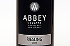 Abbey Cellars, Hawkes Bay, Riesling 2009.Photo / Dean Purcell.