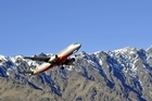 Queenstown airport was built up over 75 years by the community. Photo / Supplied