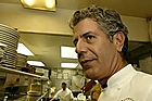 Acclaimed chef and writer Anthony Bourdain. Photo / by Richard Robinson