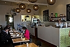 The Hinemoa Street Organic Cafe. Photo / Richard Robinson
