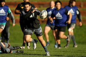 Piri Weepu will start his 40th test tomorrow against the Springboks in Wellington. Photo / Getty Images