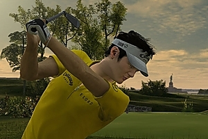 Kiwi Danny Lee features in the new Tiger Woods PGA Tour 11 game.
