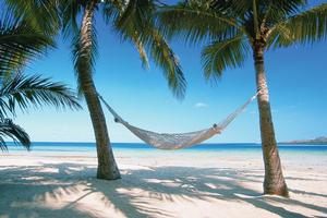 This Fijian beach scene is many people's idea of the perfect holiday. Photo / Supplied