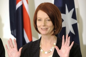 Prime Minister Julia Gillard. Photo / The Australian