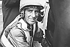 John Grylls unsaddling Kia Marea winner of the Auckland Cup in 1972. Photo / NZ Herald
